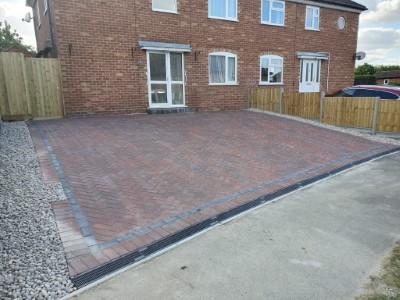 Block paving in Bridgwater
