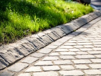 Paved Driveway With Granite Edging in Taunton