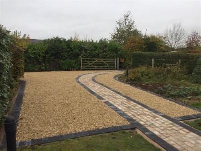 New Gravel Driveway in Bridgwater