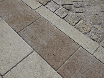 Travertine with Natural Stone in Somerset