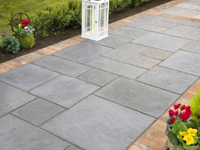 Natural Stone Patio in Somerset