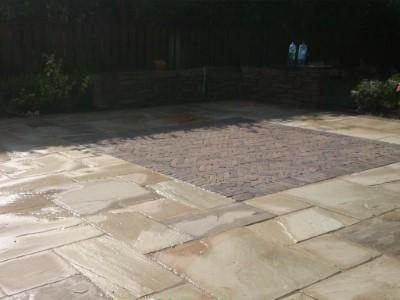 Sandstone Patio in Somerset