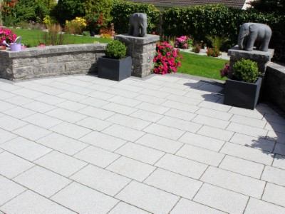 New Slabbed Patio in Somerset