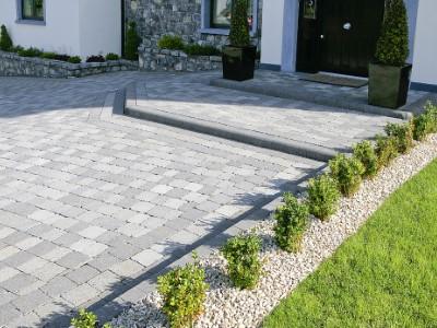 Natural Grey Tegula driveway