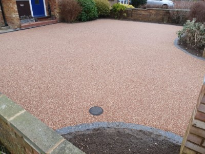 Finished Resin Driveway in Somerset