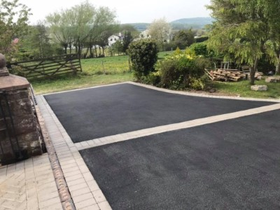 Parking Bay on Driveway in Somerset