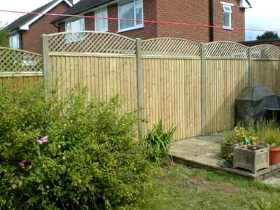 Wooden Fencing Somerset